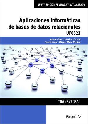 APLICACIONES INFORMÁTICAS DE BASES DE DATOS RELACIONALES. MICROSOFT ACCESS 2016