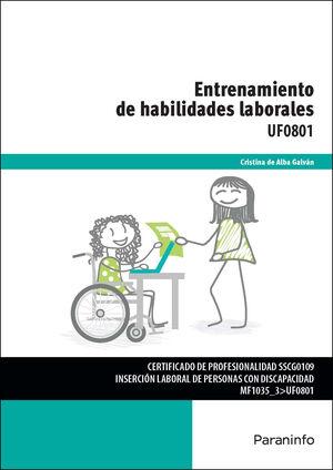 ENTRENAMIENTO DE HABILIDADES LABORALES