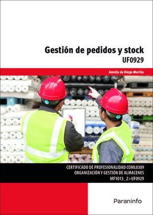 GESTIÓN DE PEDIDOS Y STOCK UF0929