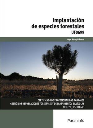 IMPLANTACIÓN DE ESPECIES FORESTALES