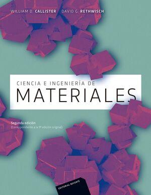 CIENCIA E INGENIERIA DE MATERIALES