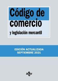 CODIGO DE COMERCIO Y LEGISLACIÓN MERCANTIL