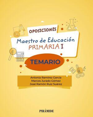 MAESTRO DE EDUCACIÓN PRIMARIA I TEMARIO