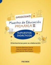 OPSICIONES MAESTRO DE EDUCACIÓN PRIMARIA II