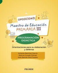 OPOSICIONES MAESTRO DE EDUCACIÓN PRIMARIA III