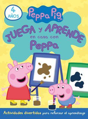 JUEGA Y APRENDE EN CASA CON PEPPA 4 AÑOS