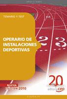 OPERARIO DE INSTALACIONES DEPORTIVAS TEMARIO Y TEST