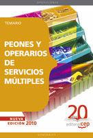 TEMARIO PEONES Y OPERARIOS DE SERVICIOS MULTIPLES