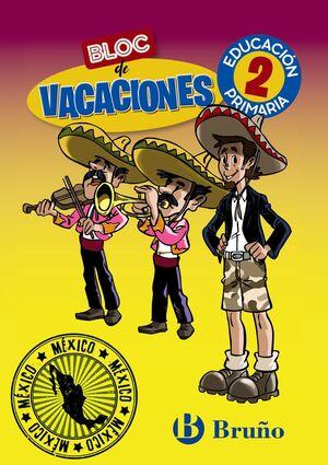 BLOC DE VACACIONES 2 PRIMARIA
