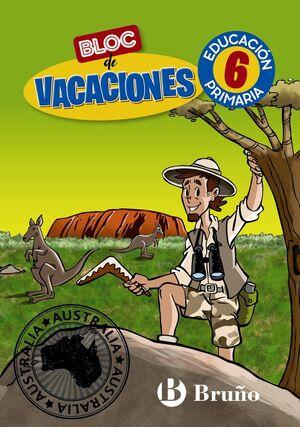 BLOC DE VACACIONES 6 PRIMARIA