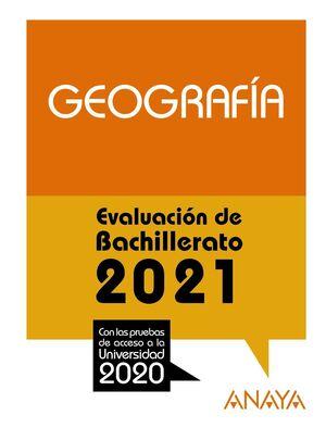 GEOGRAFIA EVALUACION DE BACHILLERATO 2021