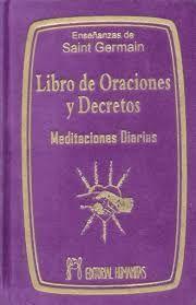 LIBRO DE ORACIONES Y  DECRETOS