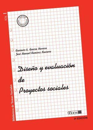 DISEÑO Y EVALUACION DE PROYECTOS SOCIALES