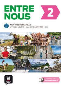 ENTRE NOUS 2 LIVRE DE L'ÉLÈVE + CAHIER D'EXERCISES + CD