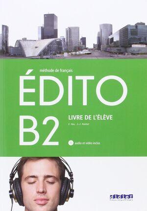 EDITO B2 LIVRE DE LEVELE METHODE DE FRANCAIS