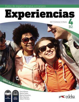 EXPERIENCIAS INTERNACIONAL 4 B2 LIBRO DEL ALUMNO