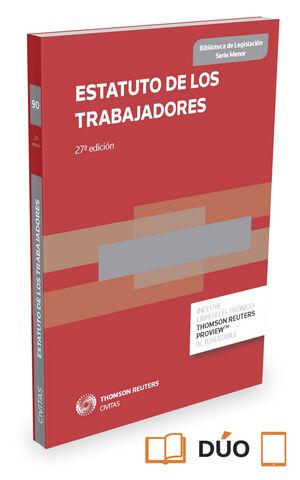 ESTATUTO DE LOS TRABAJADORES (PAPEL + E-BOOK)