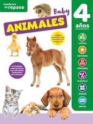 CUADERNO DE REPASO BABY ANIMALES 4 AÑOS