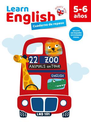 CUADERNO DE REPASO LEARN ENGLISH 5-6 AÑOS
