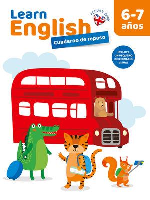 CUADERNO DE REPASO LEARN ENGLISH 6-7 AÑOS