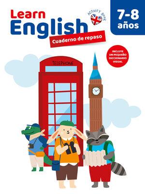 CUADERNO DE REPASO LEARN ENGLISH 7-8 AÑOS