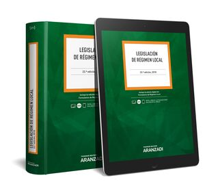 LEGISLACIÓN DE RÉGIMEN LOCAL (PAPEL + E-BOOK)