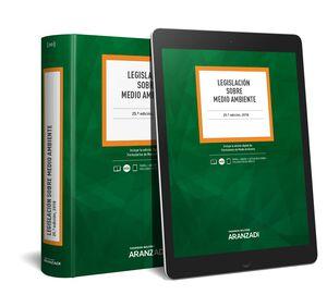 LEGISLACIÓN SOBRE MEDIO AMBIENTE (PAPEL + E-BOOK)