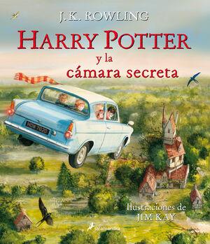 HARRY POTTER Y LA CÁMARA SECRETA EDICIÓN ILUSTRADA