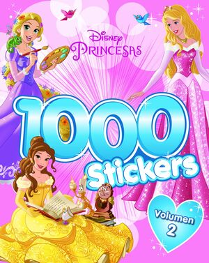 PRINCESAS. 1.000 STICKERS. VOLUMEN 2