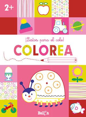 ¡LISTOS PARA EL COLE! COLOREA +2