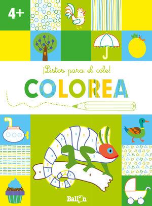 ¡LISTOS PARA EL COLE! COLOREA +4