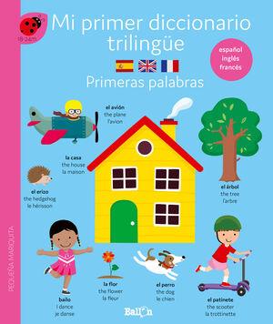 DICCIONARIO TRILINGÜE PRIMERAS PALABRAS