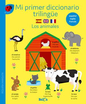 DICCIONARIO TRILINGÜE LOS ANIMALES