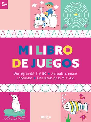 MI LIBRO DE JUEGOS 5+