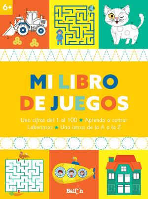 MI LIBRO DE JUEGOS 6+