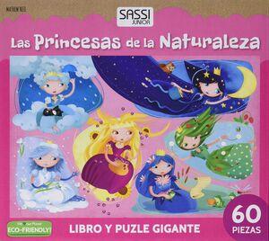 PRINCESAS DE LA NATURALEZA (LIBRO PUZZLE GIGANTE)