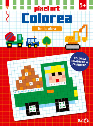 PIXEL ART COLOREA - EN LA OBRA