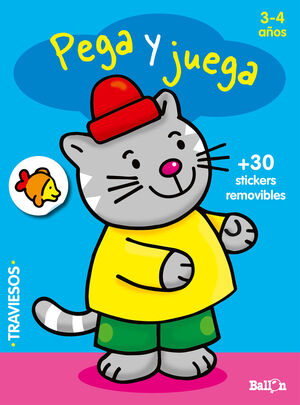 PEGA Y JUEGA - GATO (3-4 AÑOS)