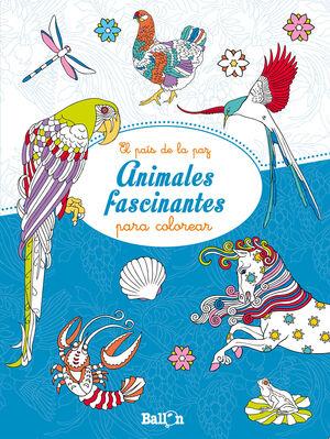 ANIMALES FASCINANTES PARA COLOREAR