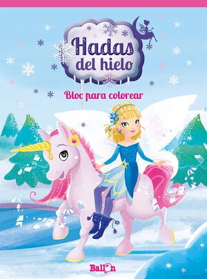HADAS DEL HIELO - BLOC PARA COLOREAR