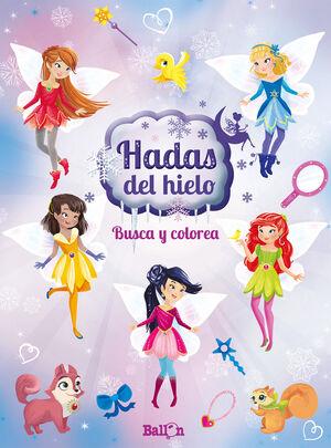 HADAS DEL HIELO - BUSCA Y COLOREA